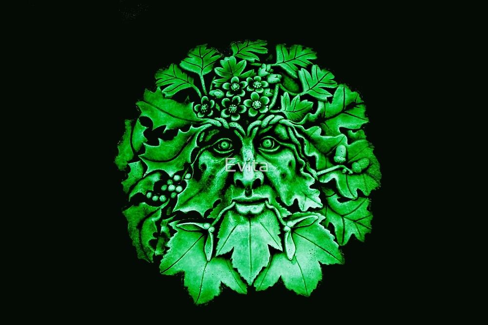 Green Man by Evita