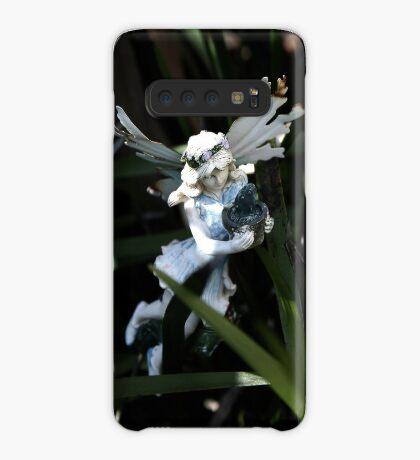 Garten Fee Hülle & Klebefolie für Samsung Galaxy