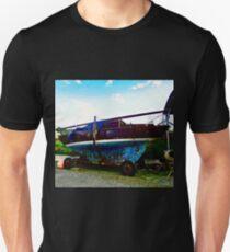 Old Sailing Boat, Corcgreggan's Mill, Donegal, Ireland Unisex T-Shirt