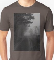 What is this that stands before me? Figure in black which points at me..Turn around quick and start to run..Find out I'm the chosen one T-Shirt