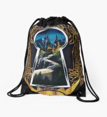 Keyhole Drawstring Bag