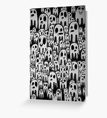A Burden of Ghosts Greeting Card