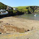 Port Isaac(Wenn) Cornwall. UK by hans p olsen
