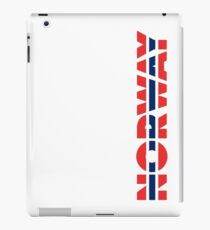 Norway Red White And Blue Of 1821 iPad Case/Skin