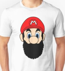 Mario Bros Beard Colors T-Shirt