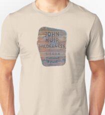 John Muir Trail sign Unisex T-Shirt