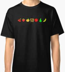 Ms PacMan Fruit Classic T-Shirt
