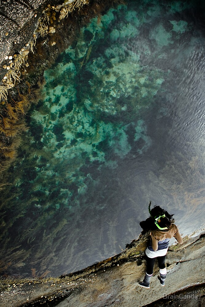 dry land snorkelling by BrainCandy