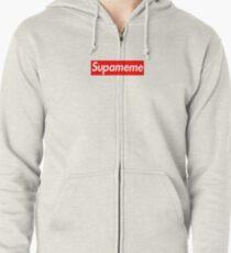 74b4e620933d Supameme - Supreme Parody T-Shirt Zipped Hoodie