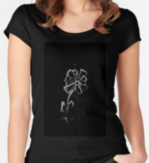 Brush and Ink - 0167 - Fleur Women's Fitted Scoop T-Shirt