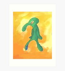 Bold and brash Art Print
