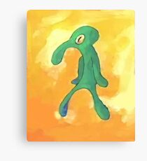 Bold and brash Canvas Print