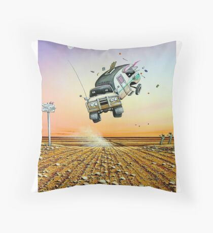Are We There Yet! Throw Pillow