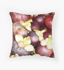 Mangosteens Throw Pillow