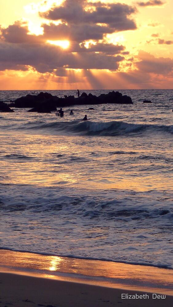 Sunset. by Elizabeth  Dew