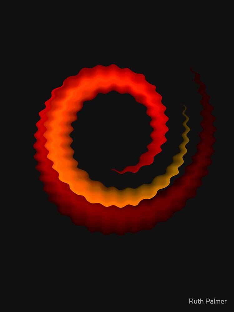 Rippled Swirl by RuthPalmer