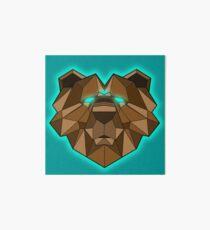 Spirit Animal (Brown Bear) Art Board