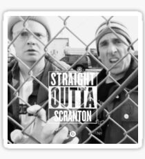 Straight Outta Scranton Sticker