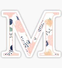 Floral Mu Sticker