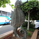Sea Horse Sculpture, Merimbula,NSW,Australia 2011 by muz2142