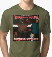 THREE 6 MAFIA - MYSTIC STYLEZ Tri-blend T-Shirt