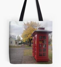 Telephone Boxes at Ross Tote Bag
