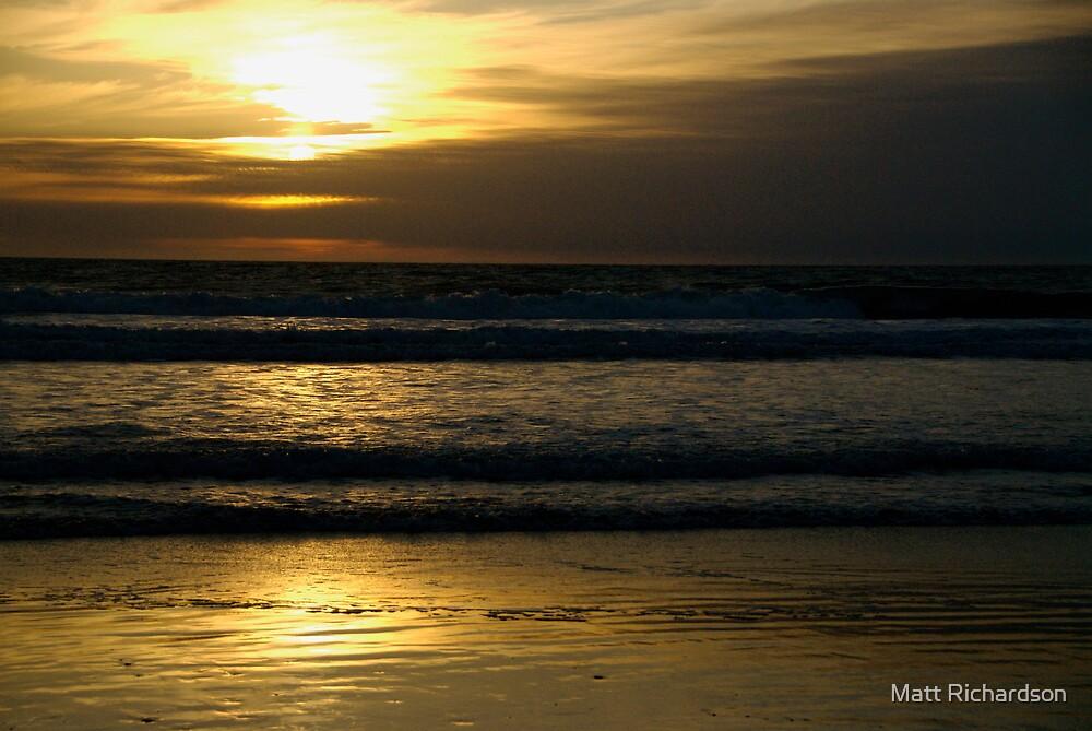 golden sundown by Matt Richardson