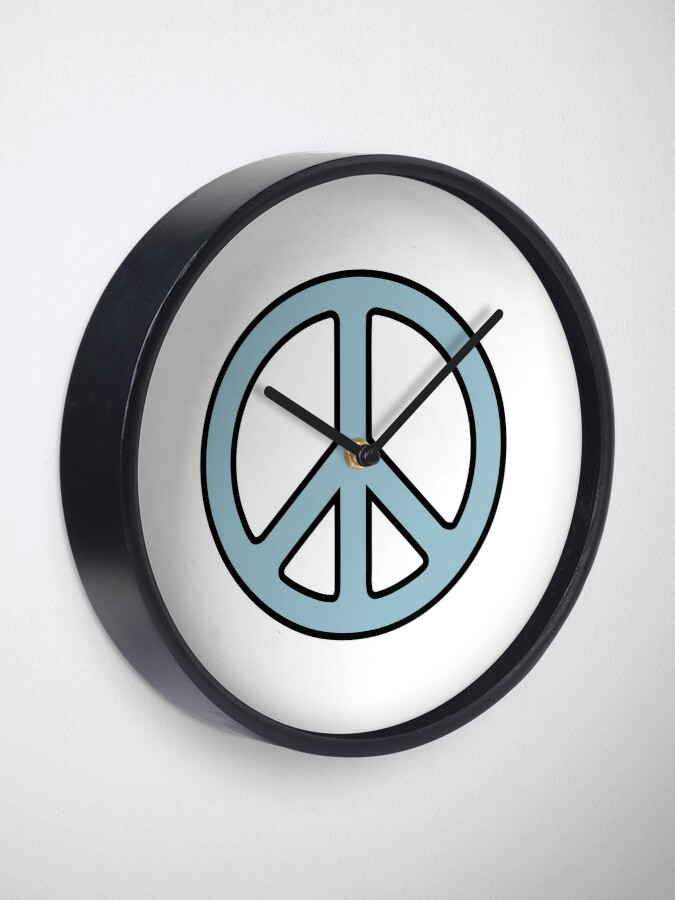 Alternate view of Peace Sign Clock