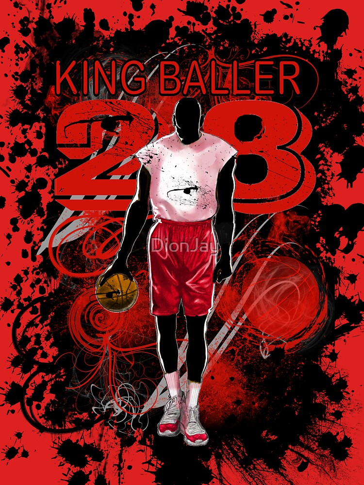 KING BALLER (RED) by DionJay