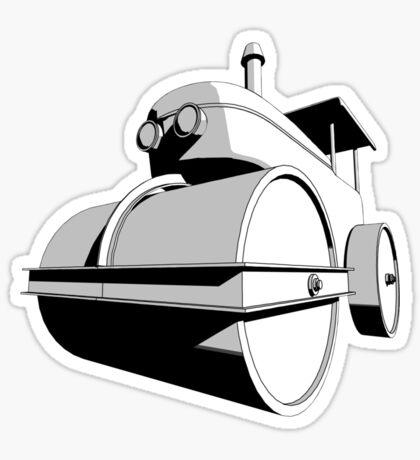 Steamroller 2 Sticker