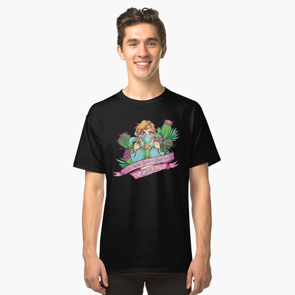 Flor del desierto Camiseta clásica