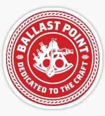 Ballast Point Red Logo Sticker