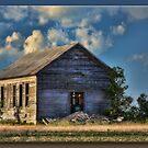 Ramshackle on the Prairie by Sheryl Gerhard
