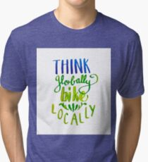 Bike Locally Tri-blend T-Shirt