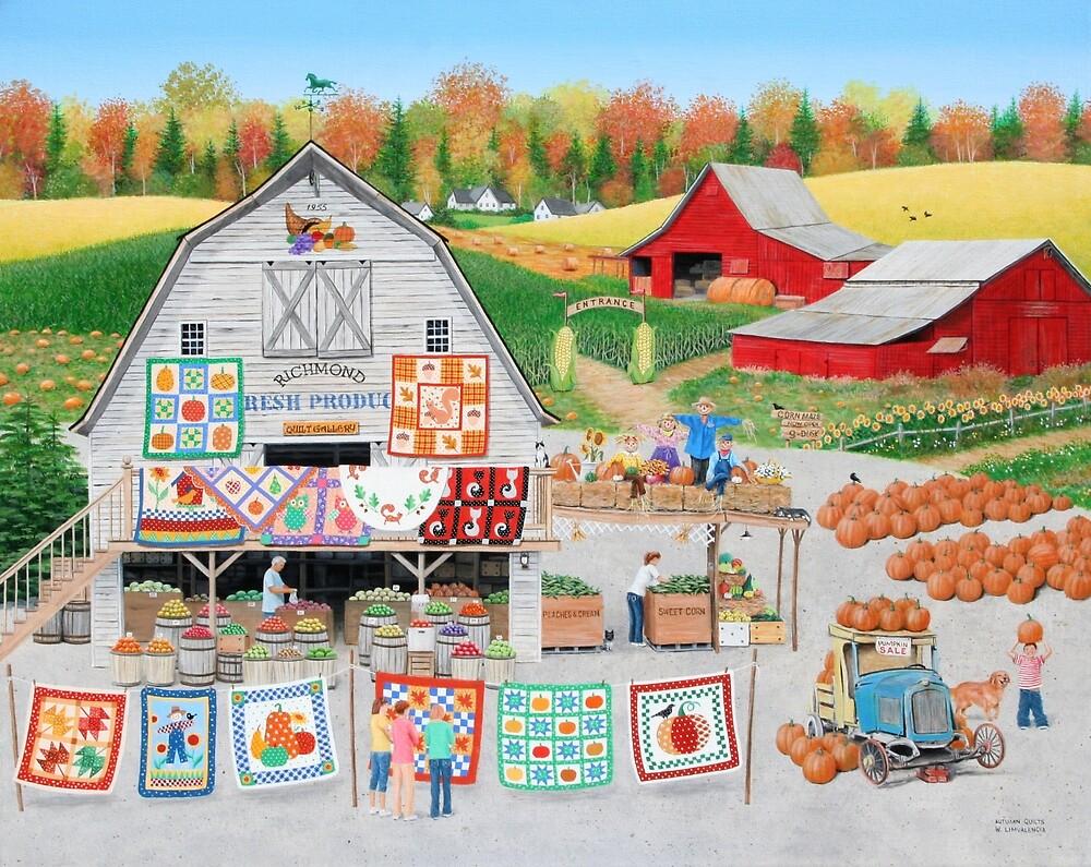 Autumn Quilts by kirbeekatz