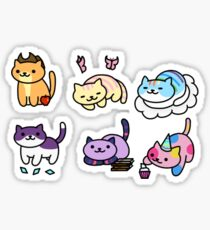 Neko Atsume MLP Sticker