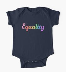 Rainbow Equality Kids Clothes