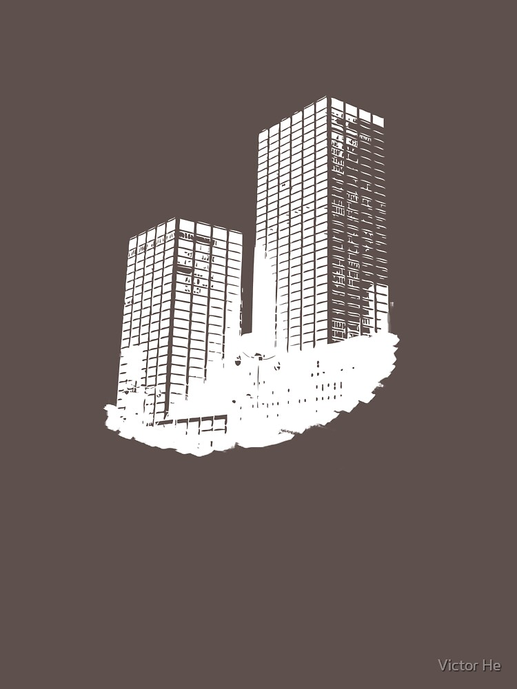 Twin Building by xelement