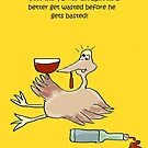 Tom The Turkey Gets Wasted by jeanne66