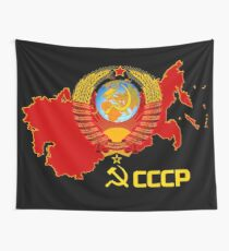 CCCP - The Soviet Union  Wall Tapestry