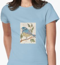 The Blue Bird Women's Fitted T-Shirt