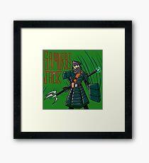 samurai jack tv show Framed Print