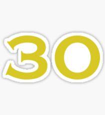 30 DUB Sticker