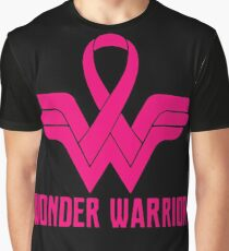 Breast Cancer Wonder Warrior T-shirts Graphic T-Shirt