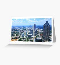 Altanta Skyline Greeting Card