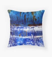 River Dance Throw Pillow