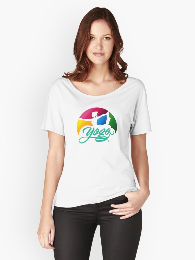 yoga Women's Relaxed Fit T-Shirt Front