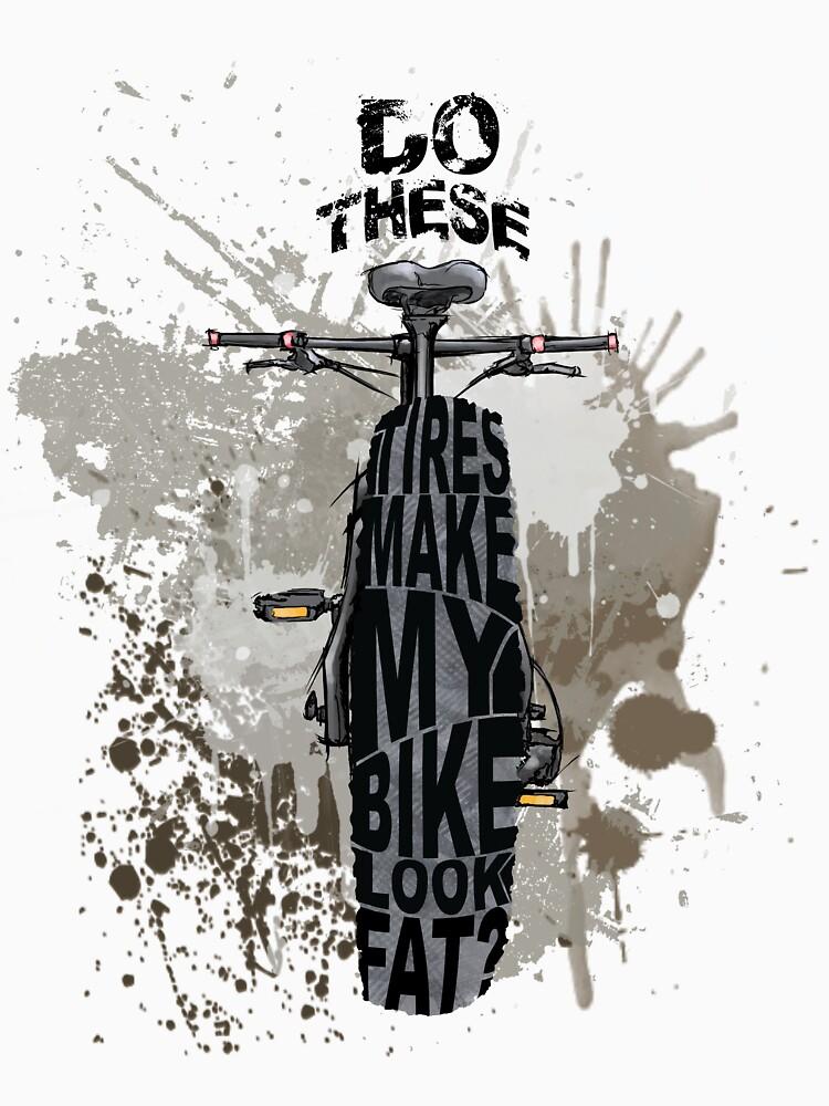 Fat bikers unite! by wycoffsart