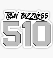 RAIDERS - TOWN BIZZNESS - 510 Sticker