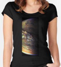Surfing Jupiter Women's Fitted Scoop T-Shirt